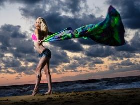 Amber's beach portrait session 4