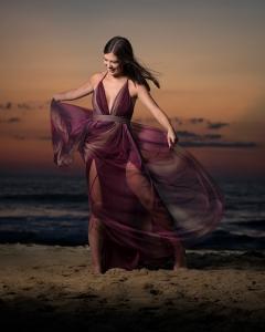 Easton's-beach-sunrise-portrait-session 2